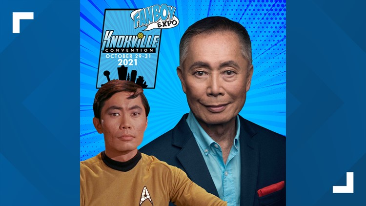 Oh, my! | Mr. Sulu to make appearance at Knoxville Fanboy Expo in October