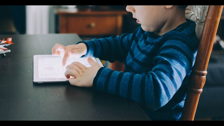 Kids are spending more time looking at screens during the pandemic