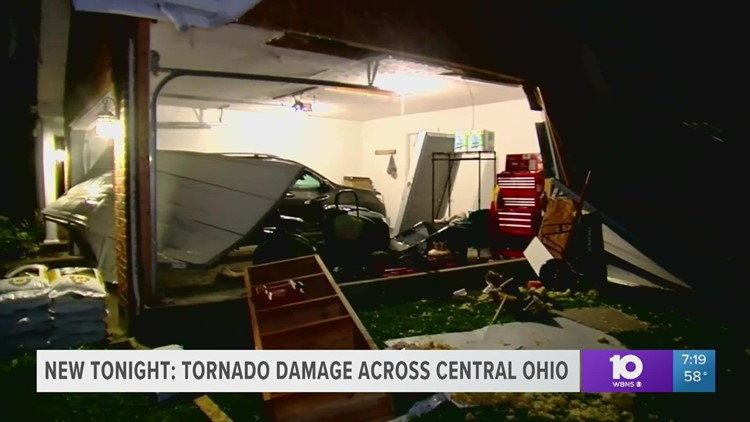 Officials survey storm damage in Ross County