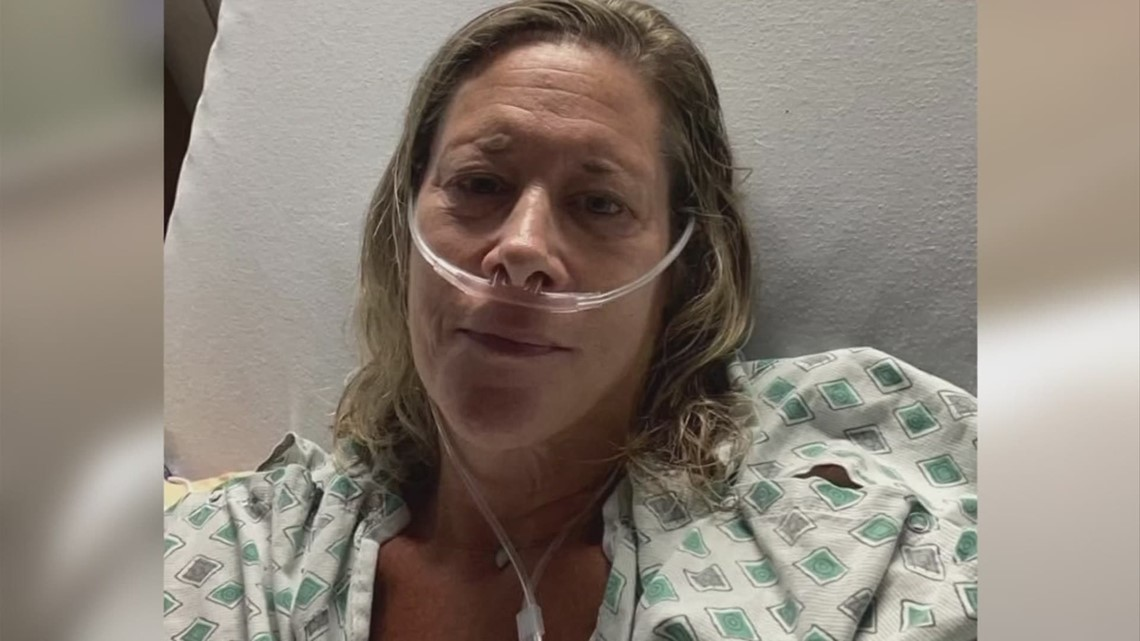 New Albany woman's battle with COVID symptoms almost one year after leaving ICU