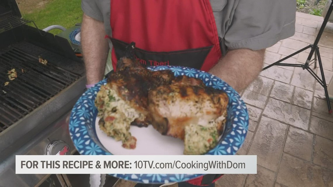 Cooking with Dom: Stuffed pork chops