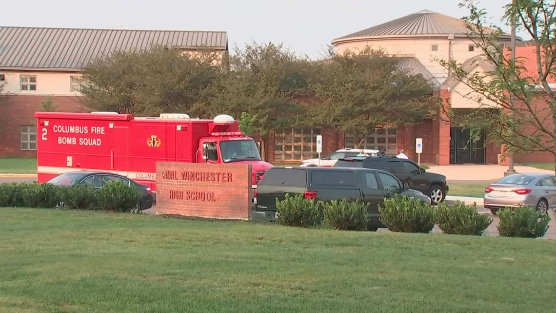Canal Winchester High School shooting threat linked to bomb threat suspect; deemed not credible