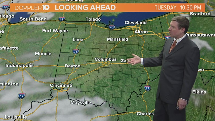 Tuesday morning forecast | April 13, 2021