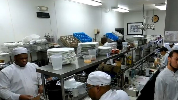 Program trains former inmates for career in culinary arts