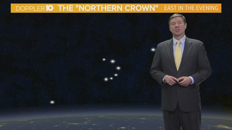 Skywatch: Look for the 'Northern Crown' this week