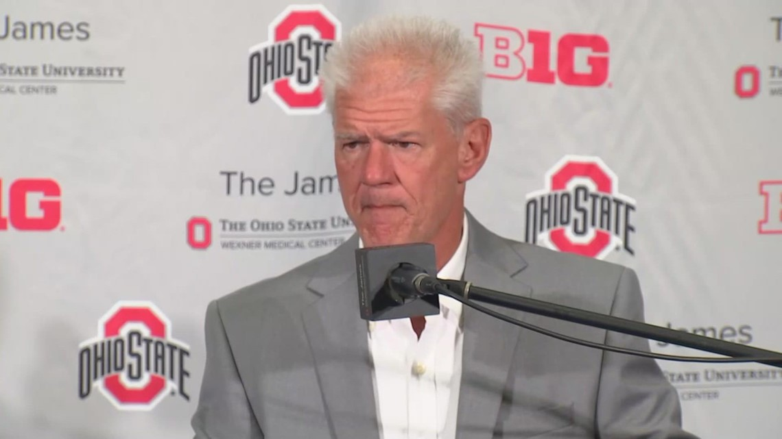 Kerry Coombs post-game interview   Ohio State-Oregon