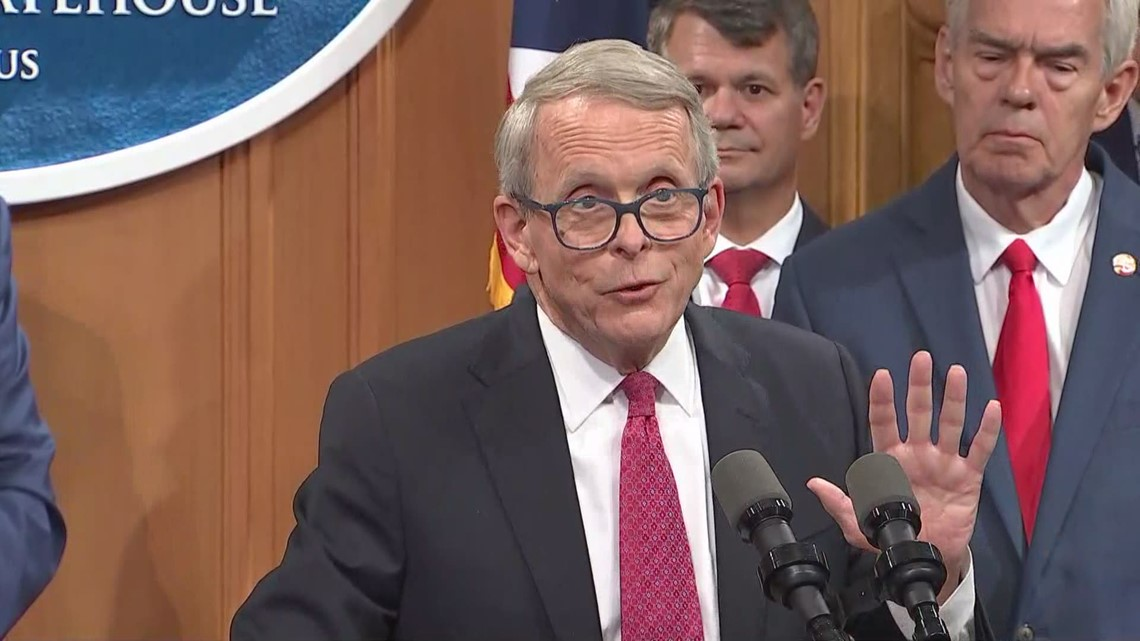 DeWine says he does not have ability to issue mask mandate for schools