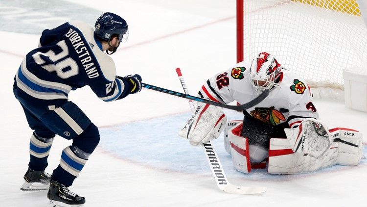 Kane, Blackhawks beat Blue Jackets 6-5 in shootout