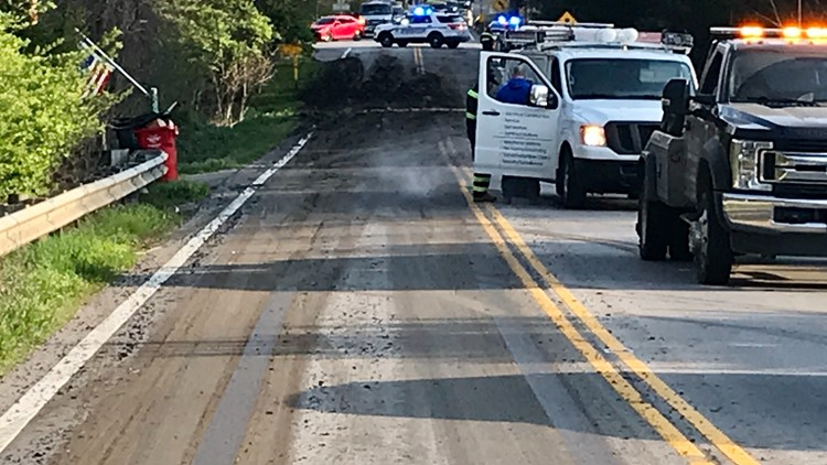 SR-315 reopens north of I-270 after debris cleared from roadway