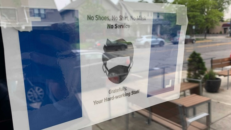 Columbus businesses adjust to updated mask guidelines