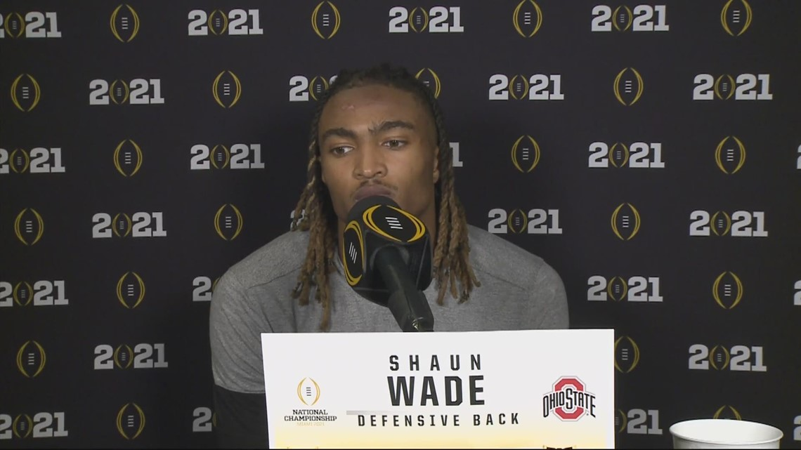 Shaun Wade post-game interview | National Championship: Ohio State vs. Alabama