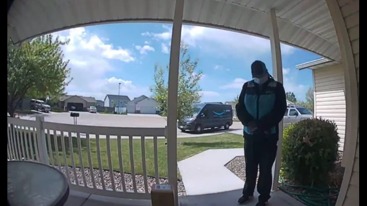 Video of Amazon delivery driver praying on doorstep touches hearts all over America