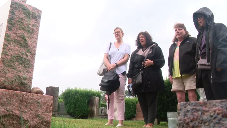 'They solved your homicide': Woman returns home for first time since sister's cold case solved