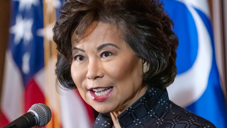 Transportation watchdog suggested criminal investigation into former Secretary Elaine Chao