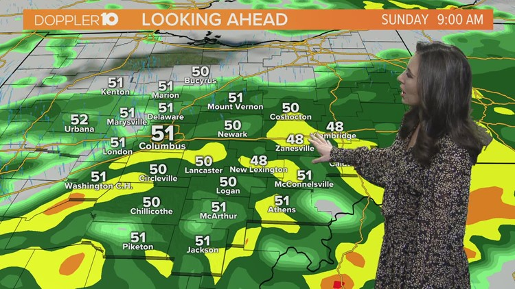 Saturday morning forecast | February 27, 2021