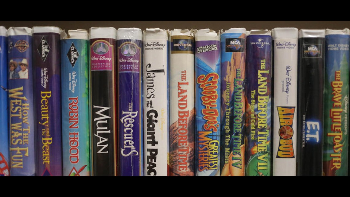 Some Disney Vhs Tapes Listing For High Dollar On Ebay 10tv Com