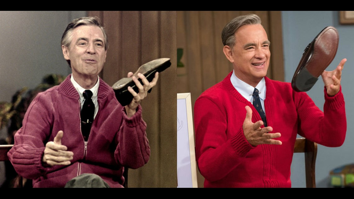 Tom Hanks Discovers He S Related To Mister Rogers Days Before A Beautiful Day In The Neighborhood Released 10tv Com