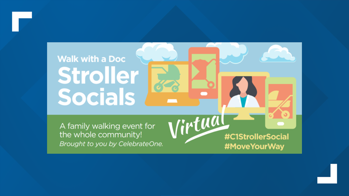Virtual Stroller Socials emphasize health, fitness for new moms during COVID-19