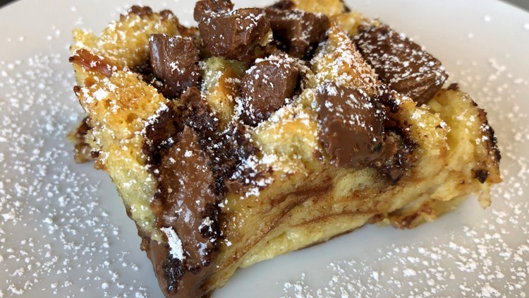 Brittany's Bites: Chocolate Chunk Bread Pudding