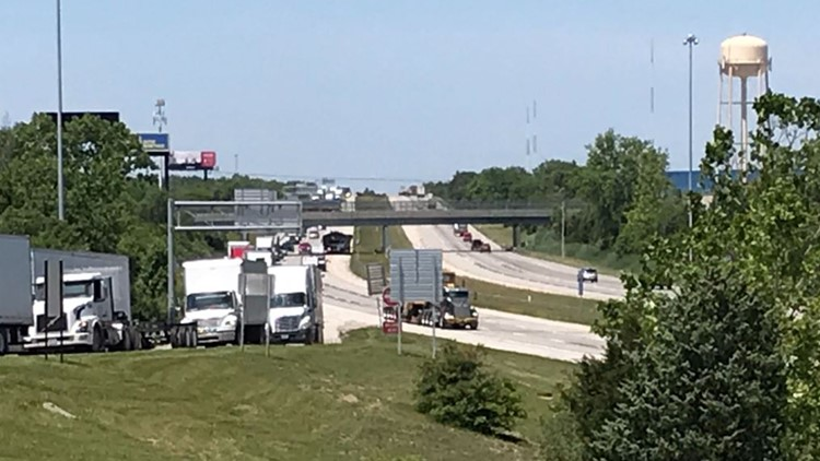 I-270 reopens in both directions after crews clear downed power lines in south Columbus