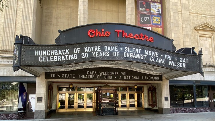 Columbus theatres to require proof of COVID-19 vaccine or negative test for all visitors