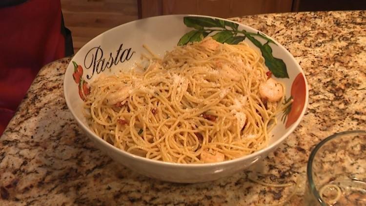 Recipe: Dom Tiberi's Italian Shrimp and Pasta