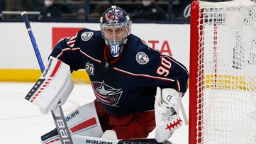 Staying in Columbus: Elvis Merzlikins signs $27 million contract extension with Blue Jackets