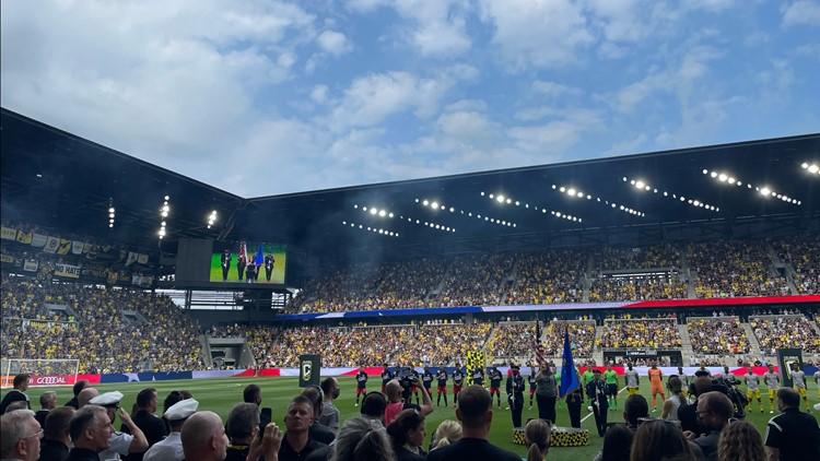 An experience of a lifetime: Fans help open Lower.com Field