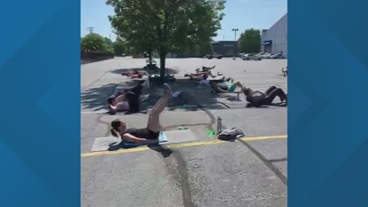 'Burpees and Beer' workout brings local businesses together