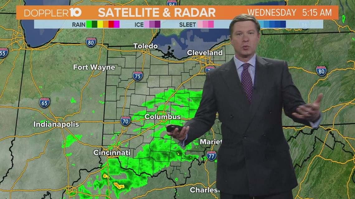 Wednesday morning forecast | April 14, 2021