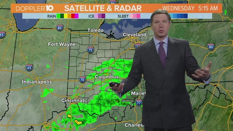 Wednesday morning forecast | April 14, 2021