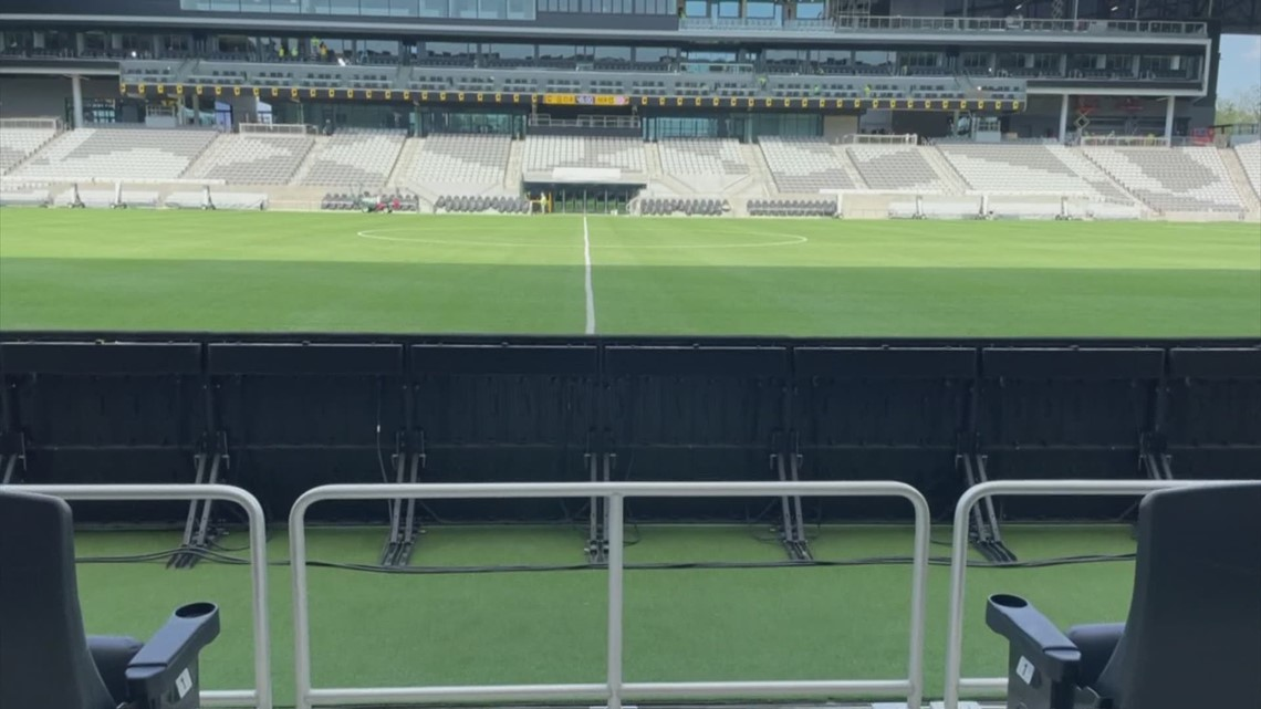 Taking a behind the scenes look at the Columbus Crew's new stadium