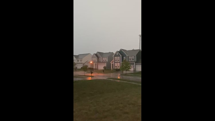 Storm in Hilliard