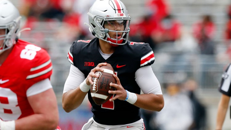 Stroud, McCord throw 2TDs each in Ohio State's Spring Game