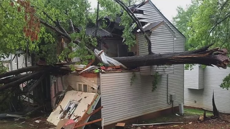 Tracking storm damage in Central Ohio