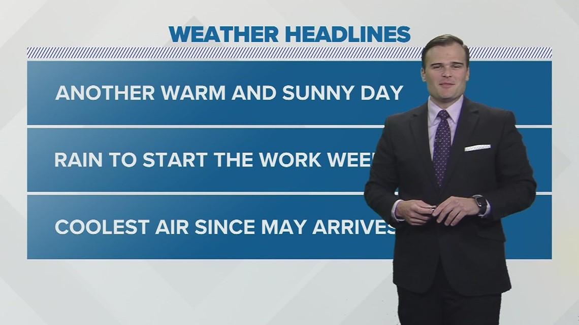 Sunday Evening Forecast   September 19, 2021