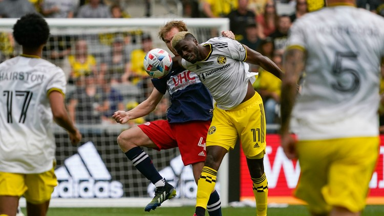 Crew rally to tie Revolution in first match at Lower.com Field