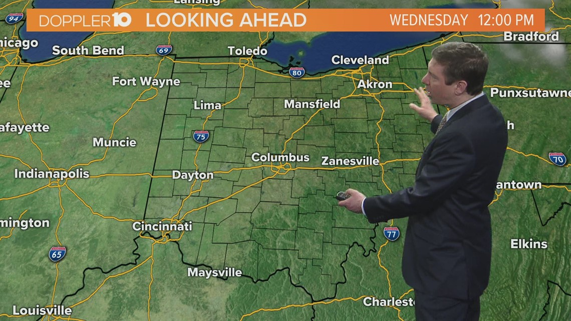 Wednesday morning forecast | March 3, 2021