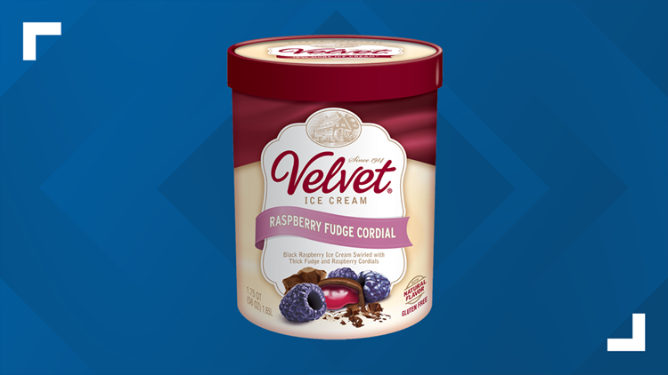 Voluntary recall issued for Velvet's raspberry fudge cordial ice cream due to undeclared peanut allergen