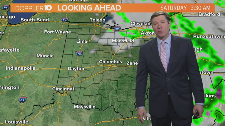 Friday morning forecast | May 7, 2021