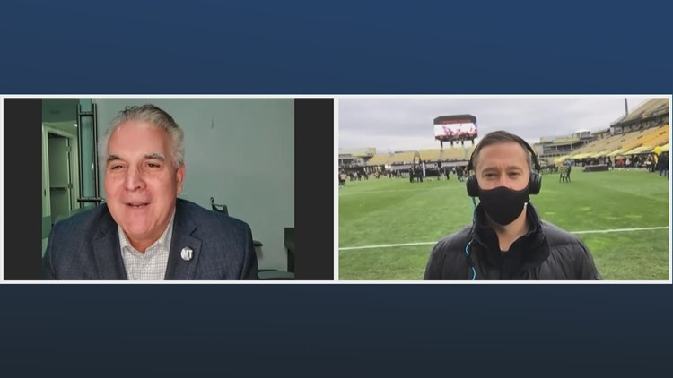 Wall To Wall Sports: 1-on-1 with Columbus Crew SC head coach Caleb Porter