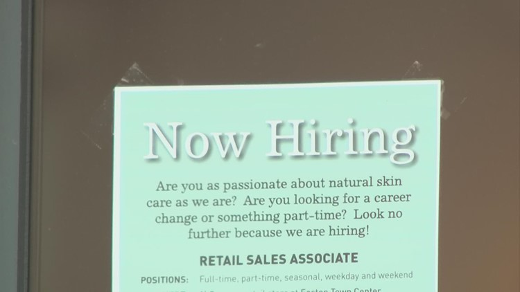 Central Ohio business concerned about hiring ahead of holiday season