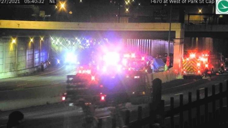 Fairfield County man dies in crash on I-670