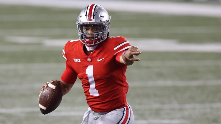 Ohio State QB Justin Fields drafted 11th overall by the Chicago Bears