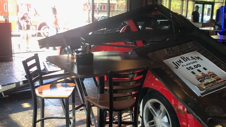 Man drives truck through Westerville restaurant