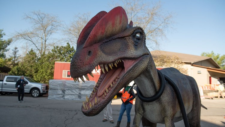 Dinosaur Island set to return to the Columbus Zoo in May