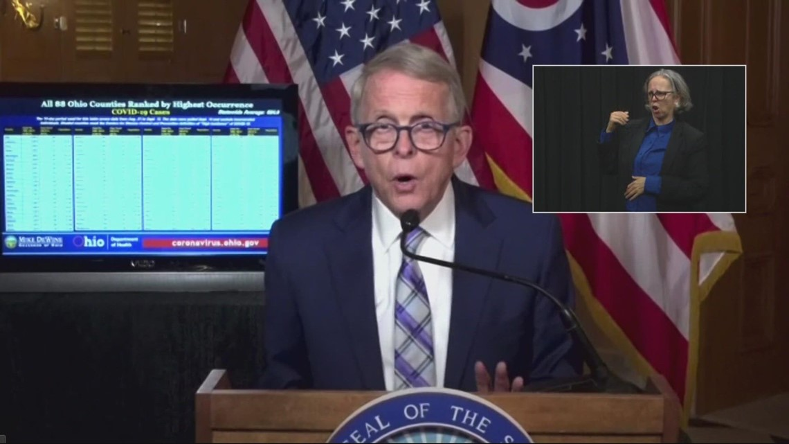 DeWine would issue mask mandate if law allowed