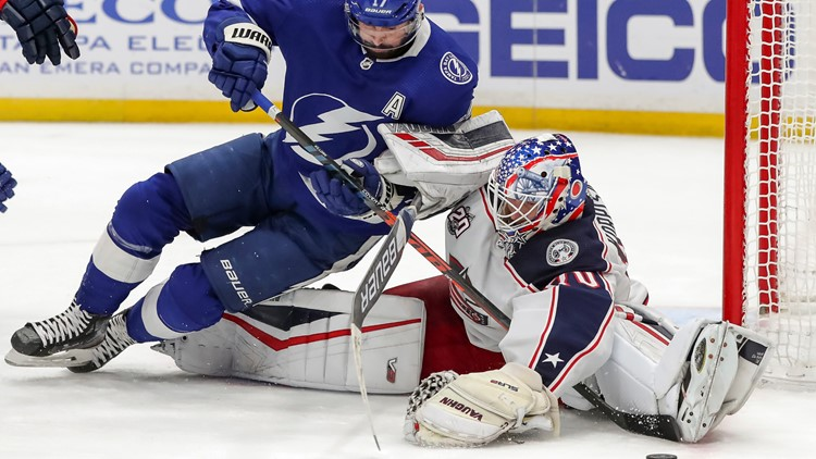Blue Jackets goaltender Joonas Korpisalo done for season with lower-body injury