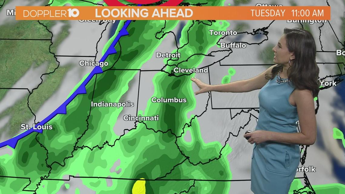 Sunday morning forecast   September 19, 2021