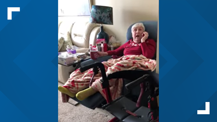 Grandmother surprised in nursing home after 357 days of separation due to COVID-19